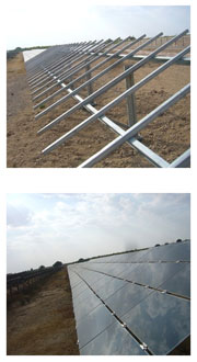 Ground Mounted Products | Fixed Structure | Seasonal Tilt Structure